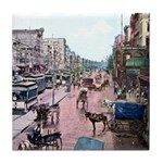 Old Canal Street Tile Coaster