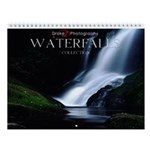 Water Falls Photography Collection Wall Calendar