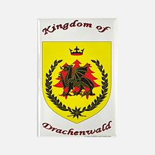Kingdom of Drachenwald Rectangle Magnet