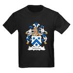 Niebuhr Family Crest Kids Dark T-Shirt