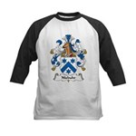 Niebuhr Family Crest Kids Baseball Jersey