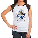 Niebuhr Family Crest Women's Cap Sleeve T-Shirt