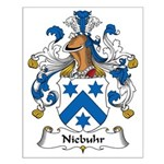 Niebuhr Family Crest Small Poster