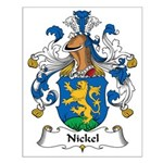 Nickel Family Crest Small Poster