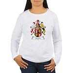 Neuner Family Crest Women's Long Sleeve T-Shirt