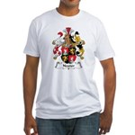 Neuner Family Crest Fitted T-Shirt