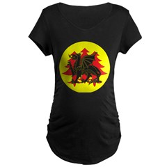 Drachenwald Populace Maternity Dark T-Shirt