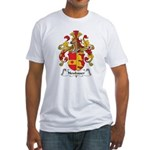 Neubauer Family Crest Fitted T-Shirt