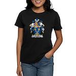 Nestler Family Crest Women's Dark T-Shirt