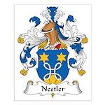 Nestler Family Crest Small Poster