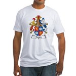 Nessen Family Crest Fitted T-Shirt
