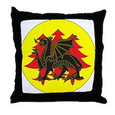 Drachenwald Populace Throw Pillow