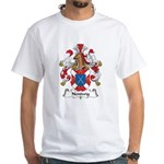 Nentwig Family Crest White T-Shirt
