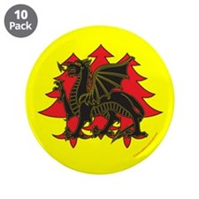 """Drachenwald Populace 3.5"""" Button (10 pack)"""