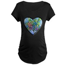 Stained Glass Rose T-Shirt