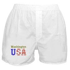 Washington USA Boxer Shorts