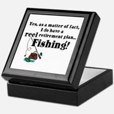 Reel Retirement Plan Keepsake Box