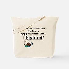 Reel Retirement Plan Tote Bag