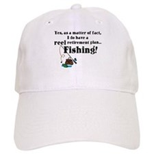 Reel Retirement Plan Baseball Cap