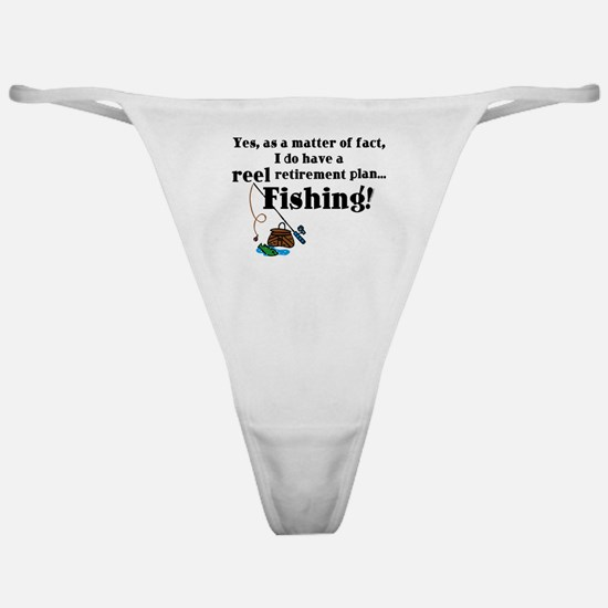 Reel Retirement Plan Classic Thong