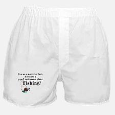 Reel Retirement Plan Boxer Shorts