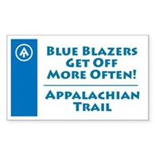 "Appalachian Trail ""Blue Blaze"" Decal"