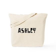 Ashley Faded (Black) Tote Bag