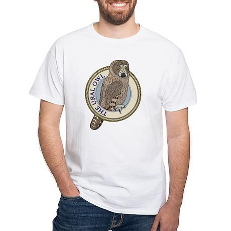 Ural Owl White T-Shirt