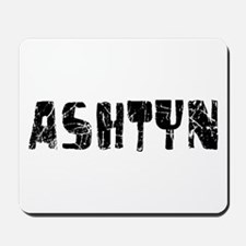 Ashtyn Faded (Black) Mousepad
