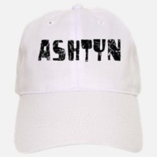 Ashtyn Faded (Black) Baseball Baseball Cap