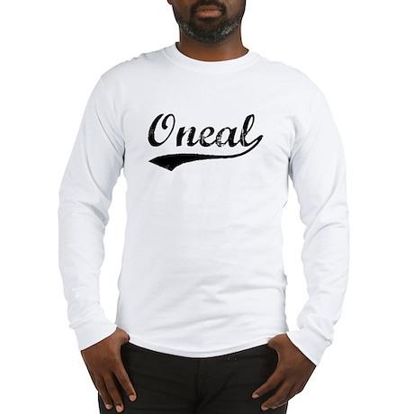 Vintage Oneal (Black) Long Sleeve T-Shirt