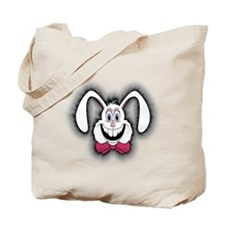 Tweaked Out Easter bunny Tote Bag