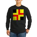 Drachenwald Ensign Long Sleeve Dark T-Shirt