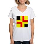 Drachenwald Ensign Women's V-Neck T-Shirt