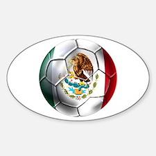 Futbol Mexicano Sticker (Oval)