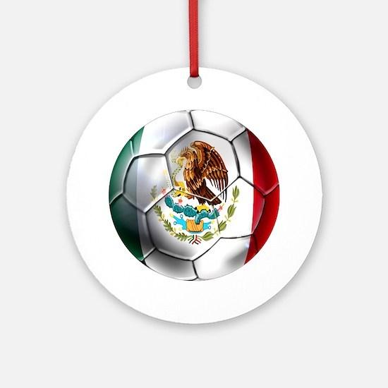 Futbol Mexicano Ornament (Round)