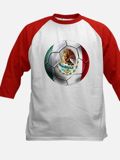 Futbol Mexicano Kids Baseball Jersey