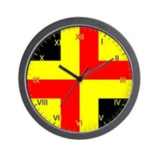 Drachenwald Ensign Wall Clock