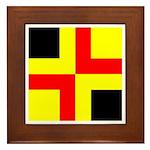 Drachenwald Ensign Framed Tile