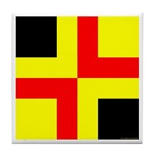 Drachenwald Ensign Tile Coaster