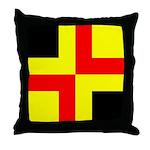 Drachenwald Ensign Throw Pillow