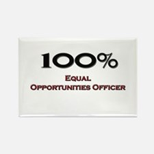 100 Percent Equal Opportunities Officer Rectangle