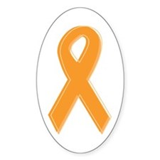 Orange Aware Ribbon Decal