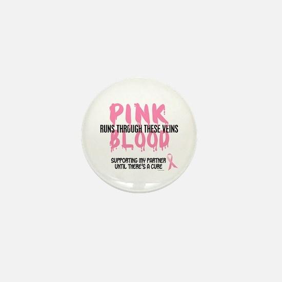 Pink Blood 1 (Partner) Mini Button