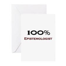 100 Percent Epistemologist Greeting Cards (Pk of 1