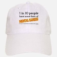 Mental Illness Baseball Baseball Cap