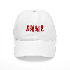Annie Faded (Red) Baseball Cap