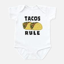 Tacos Rule Infant Bodysuit