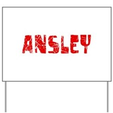 Ansley Faded (Red) Yard Sign