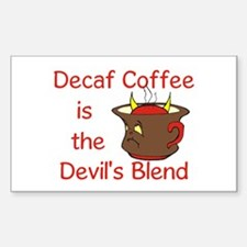 Coffee Lover Rectangle Sticker 10 pk)